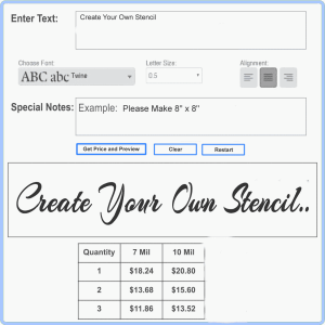 Text Pricing Tool