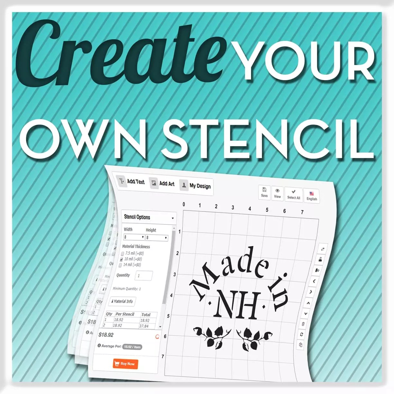 Stencil Font Gallery