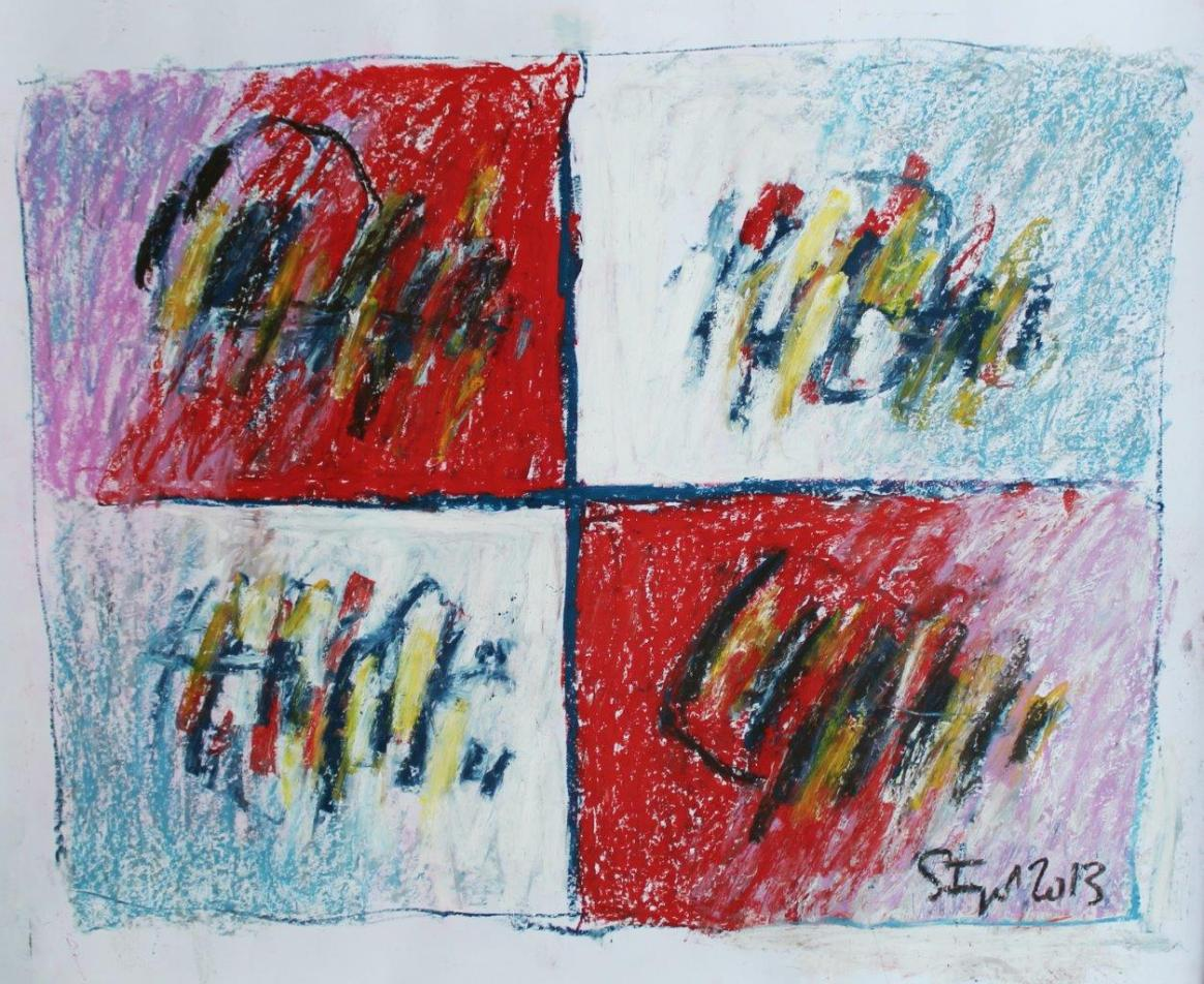 04 Tribute to Liszt pastel on paper - cm84x69