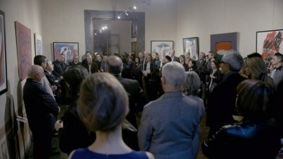 vernissage, Stengel Collection, Palazzo Rosselli, Florence