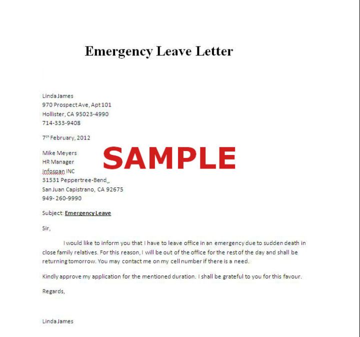 Emergency vacation leave reasons another1st sample vacation leave request letter for nurses docoments ojazlink altavistaventures Gallery
