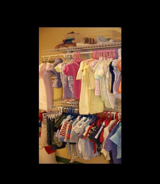 Donate baby clothes