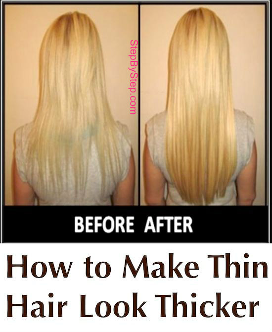How To Make Thin Hair Look Thicker