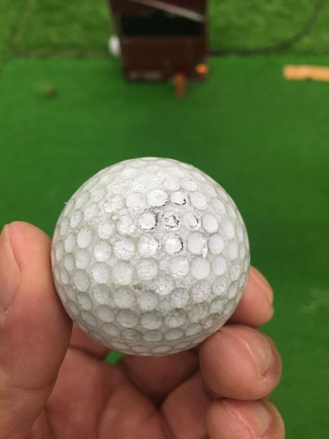ゴルフボール汚れ