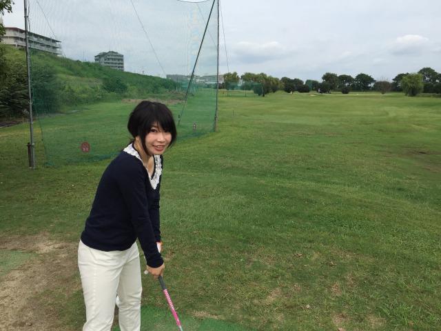 淀川ゴルフでラウンドレッスンデビュー