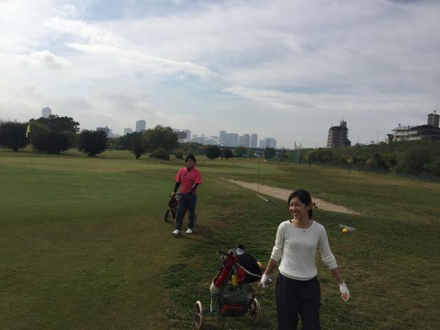 淀川ゴルフクラブのラウンドレッスン