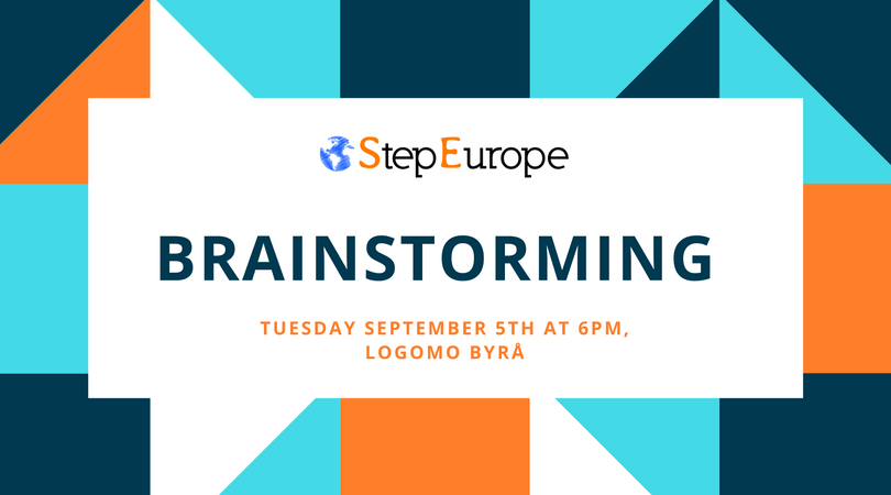 Brainstorming evening – September 17