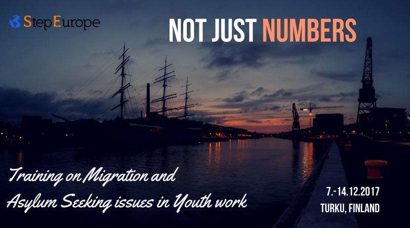 Not just Numbers – Migration and asylum seeking issues in youth work