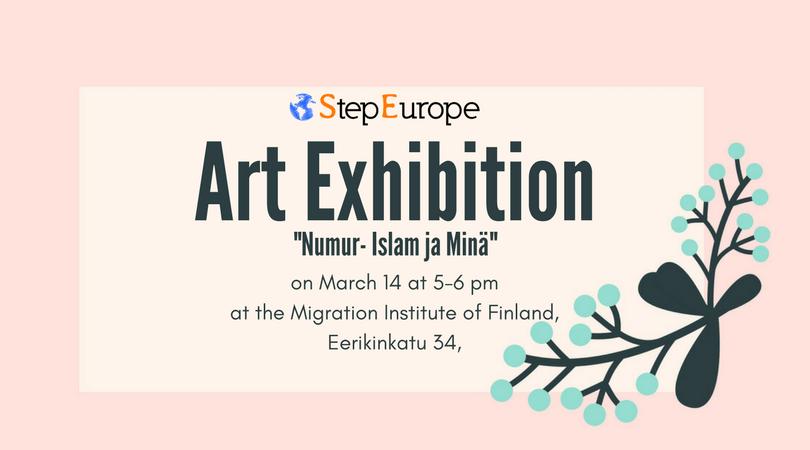"""""""Numur – Islam ja minä""""  Art Exhibition 14.3.2018"""