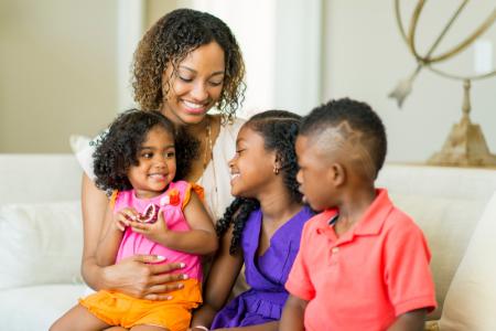Stepmum with Stepchildren