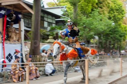 Le Yabusame est avant tout un rite shintoiste - Tsurugaoka Hachi