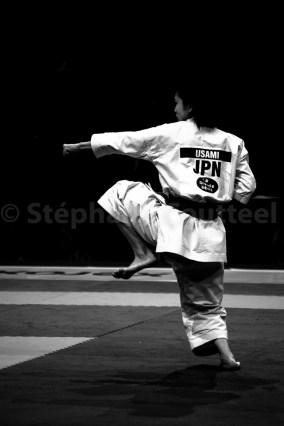 Equilibre - Usami - Finale Championnat Monde Karaté 2012 - Paris bercy