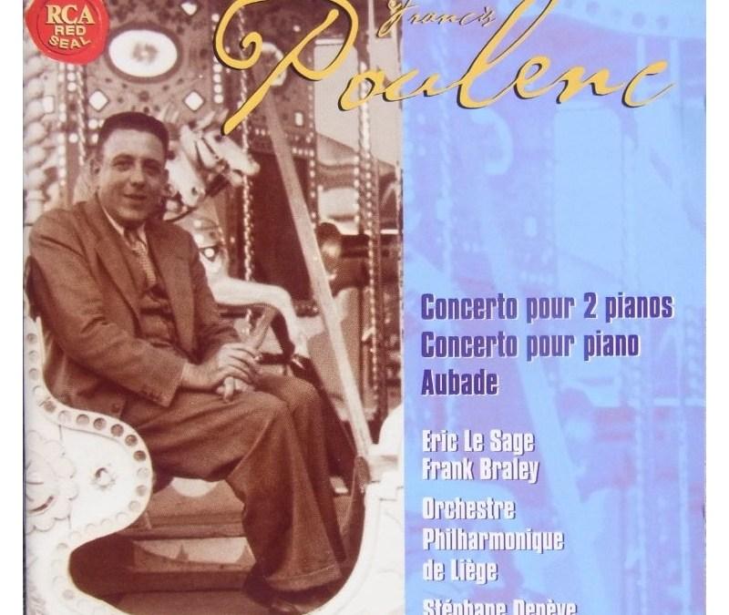 POULENC: Concerto pour 2 pianos