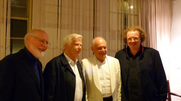 Conductors John Williams, Christoph von Dohnanyi, Lorin Maazel and Stéphane Denève - Tanglewood on Parade 2012.
