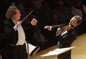 Gil Shaham and Stéphane Denève get playful with Bartok