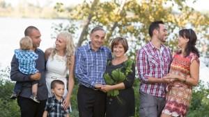 Une séance photo de famille