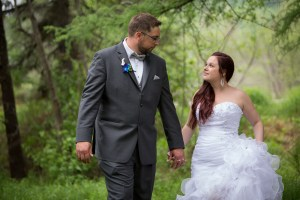 Mariage rustique à Val-David