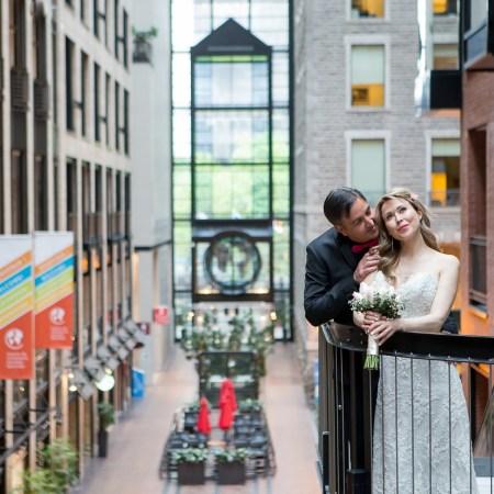 Un mariage intime dans le Vieux-Port