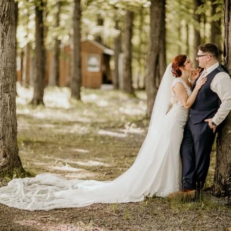 Sympathique mariage à l'Érablière Charbonneau