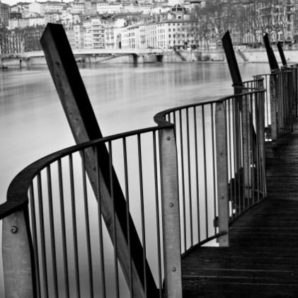 07-Lyon quai St Antoine. Dir nord.