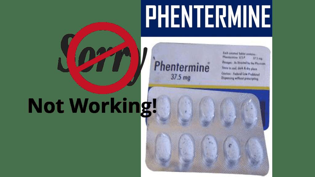 phentermine not working