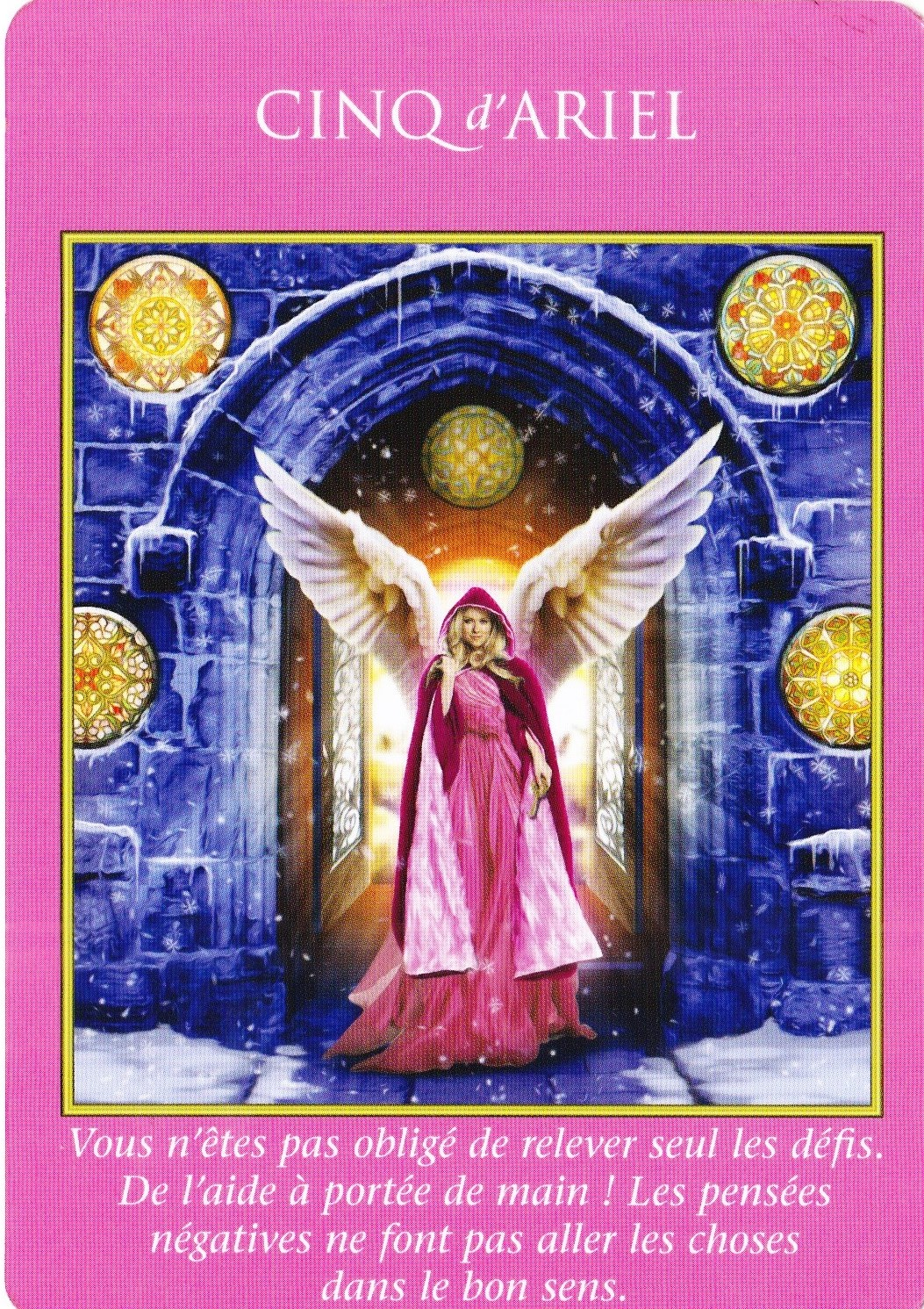 5 d'Ariel - Tarot des Archanges - Doreen Virtue