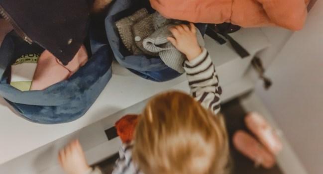 Eigen spullen wegleggen – jonge peuter week 5