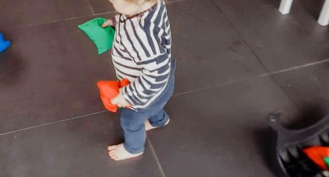 Geen interesse in speelgoed – jonge peuter week 11