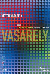 Affiche Exposition Vasarely Centre Pompidou