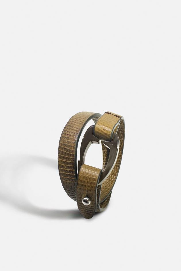 Bracelet Cuir Français Césaire