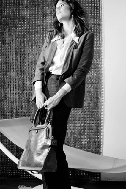 Grand Sac bandoulière Justine cuir Césaire Paris Designer créateur Fabriqué en France Made in France