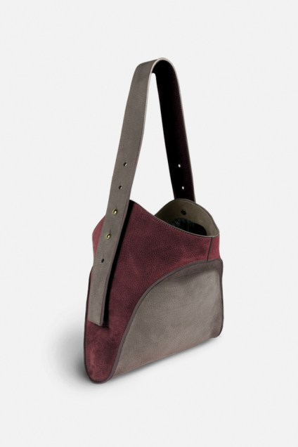 Designer leather handbag made in France