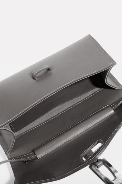 Cesaire Paris Designer leather handbag made in France