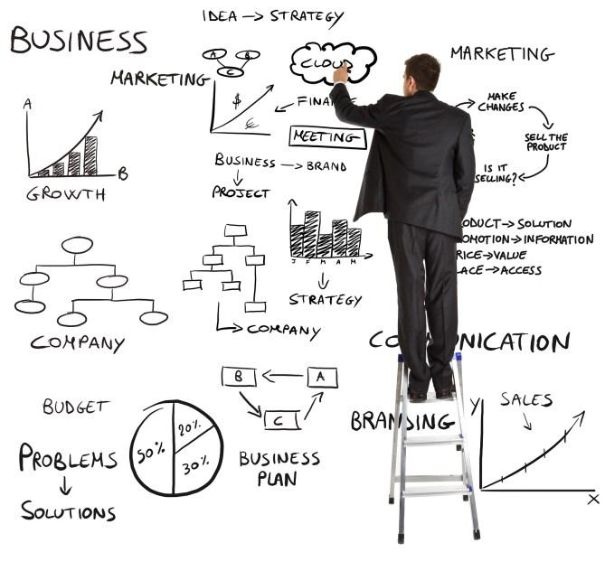 management-Businessman-writing