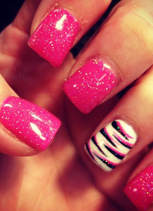 Have All Nails Painted One Colour