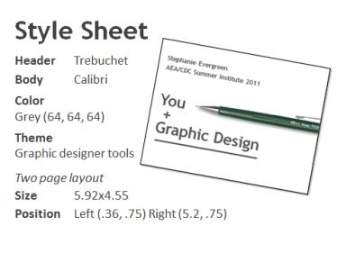 style sheet for workshop slides
