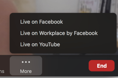 How to use Zoom with Facebook