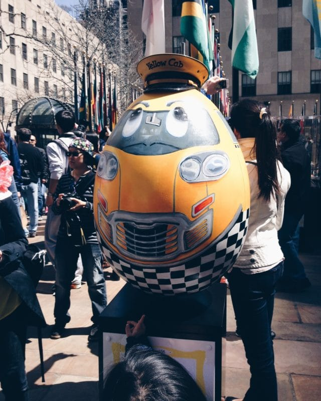Rockefeller egg hunt