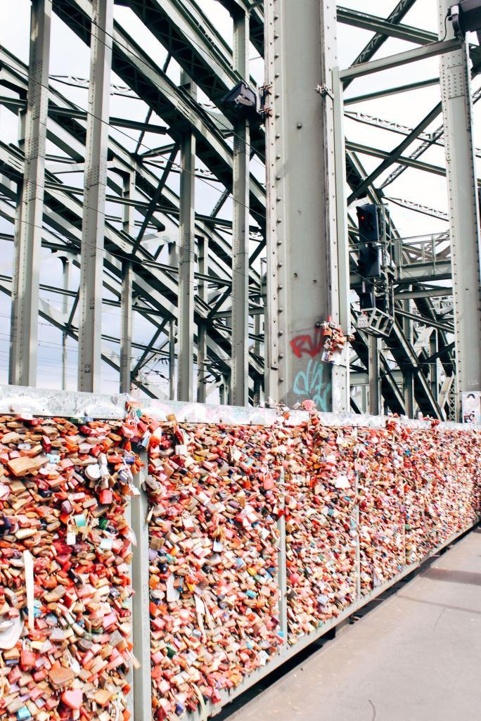Padlocks on the Hohenzollern Bridge