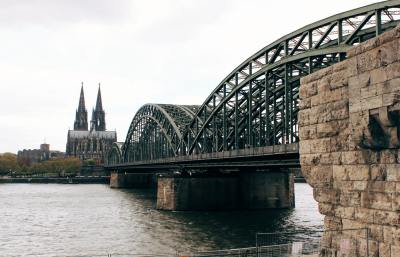Hohenzollern Bridge & Cologne Cathedral