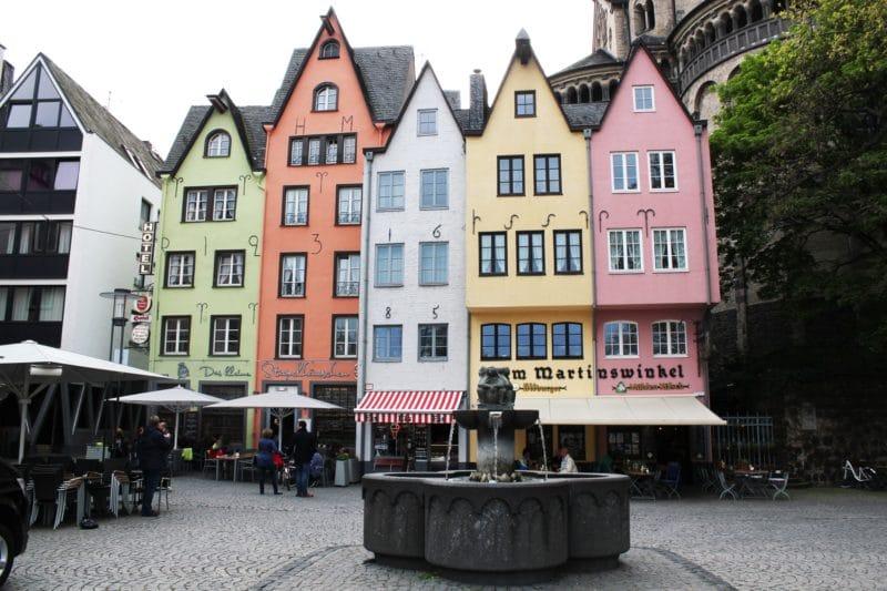 Coloured Houses, Cologne