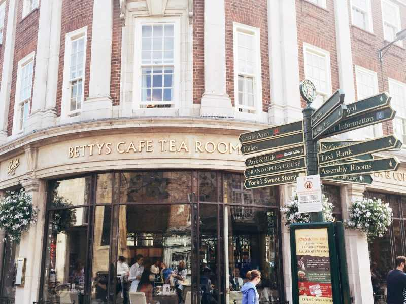 Betty's Cafe Tea Rooms, York