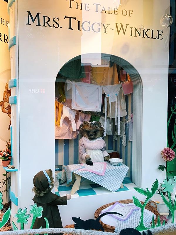 Fenwick's Window 2016, Beatrix Potter