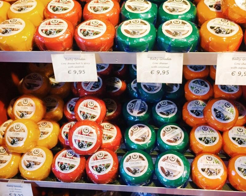 Gouda cheese, Amsterdam