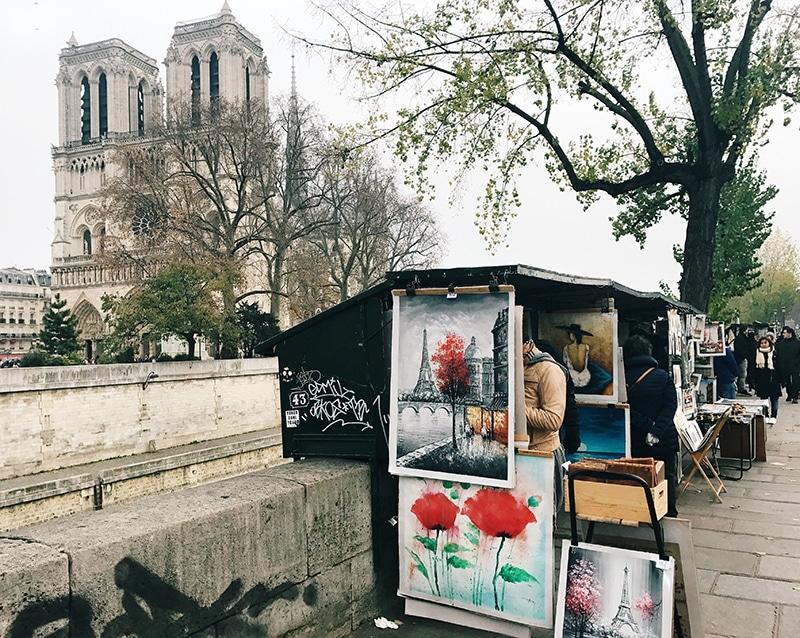Notre Dame street art