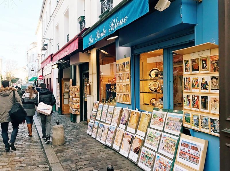 Montmartre art gallery