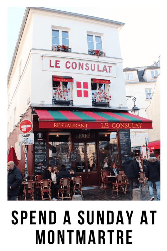 Sundays at Montmartre, Paris