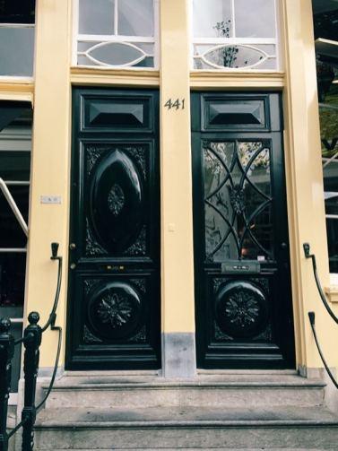 Amsterdam doorways
