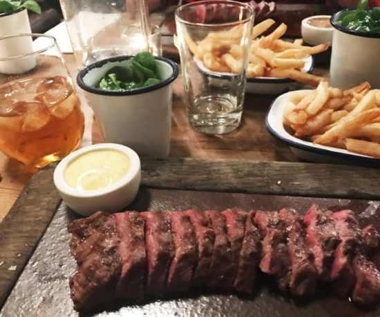Flat iron steakhouse