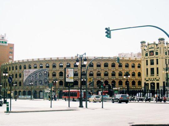 Valencia bullring